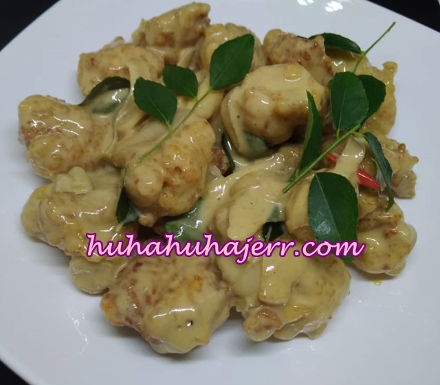 Butter Chicken Yang Sedap Sesangat.... Huhu!