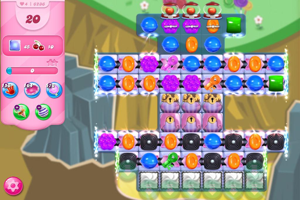 Candy Crush Saga level 6236