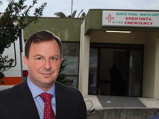 Υπουργός Υγείας: Κανένα νέο ασθενοφόρο στο Κέντρο Υγείας Ηγουμενίτσας - Απάντηση σε ερώτηση του Β. Γιόγιακα