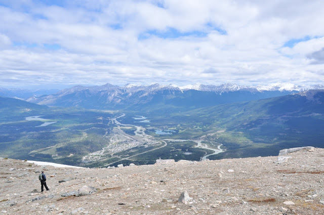 As seen from the Jasper SkyTram, Jasper National Park, Alberta, Canada