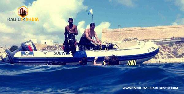المهدية : القبض على 4 أشخاصٍ قدموا للجهة للمشاركة في عملية إجتياز للحدود البحرية خلسة