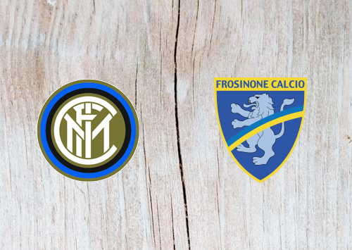 Inter Milan vs Frosinone Full Match & Highlights 24 November 2018