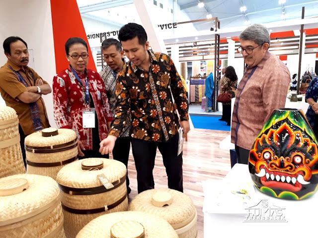 Produk Unggulan Trenggalek Ikut Ambil Bagian dalam Trade Expo Indonesia 2017