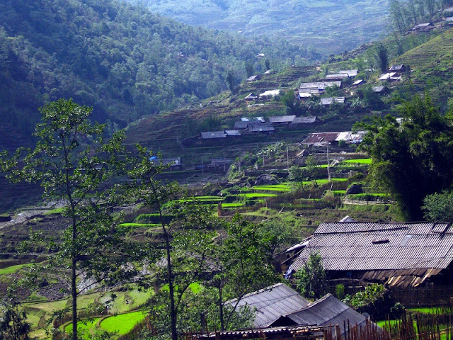 Sapa scenery at the beginning of the new year 1