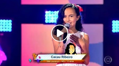 Cacau Ribeiro Brilha No The Voice Kids E Deixa Orgulhosa