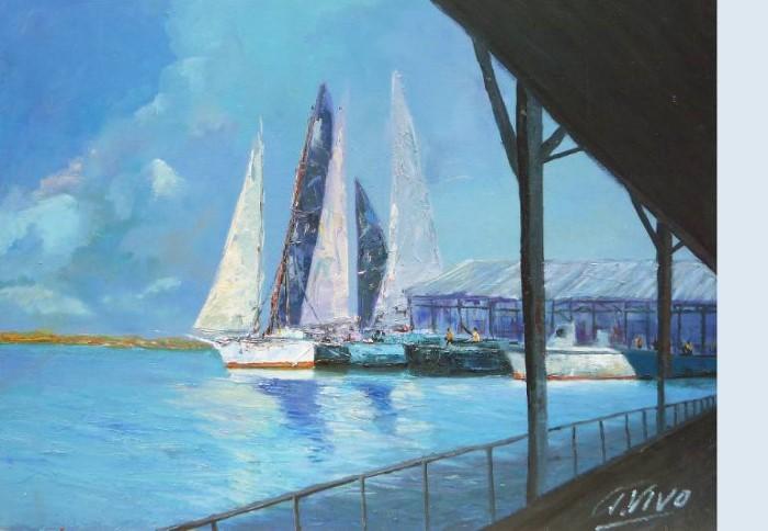 Картины моря и неба