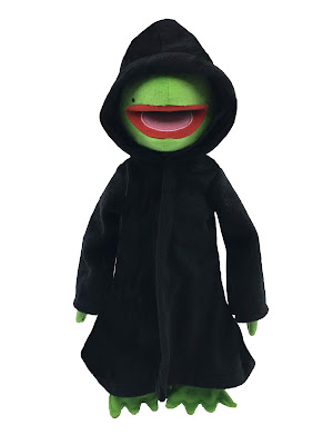 "San Diego Comic-Con 2018 Exclusive The Muppets Dark Kermit (Constantine) 12"" Plush by UCC Distributing"