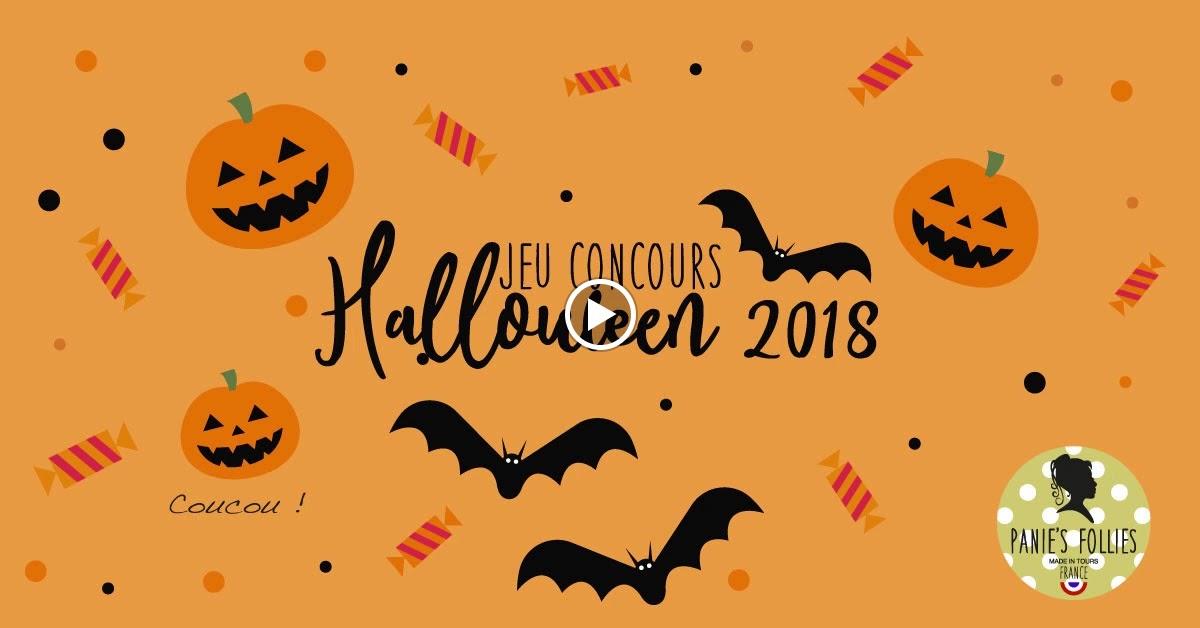 Jeu concours Halloween