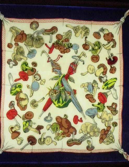 La Cueillette des Champignons (Сбор грибов), 1948 год, художник Hugo Grygkar