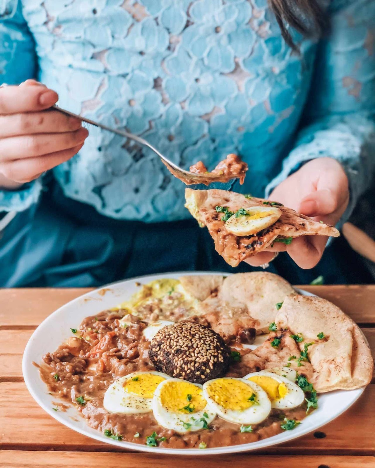 Best brunch ideas Toronto - Maha's Egyptian food