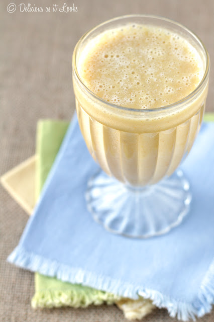 Low-FODMAP Turmeric Sunshine Smoothie  /  Delicious as it Looks