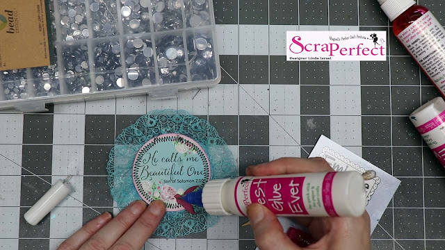 Artist Trading Coins made Easy with ScraPerfect products