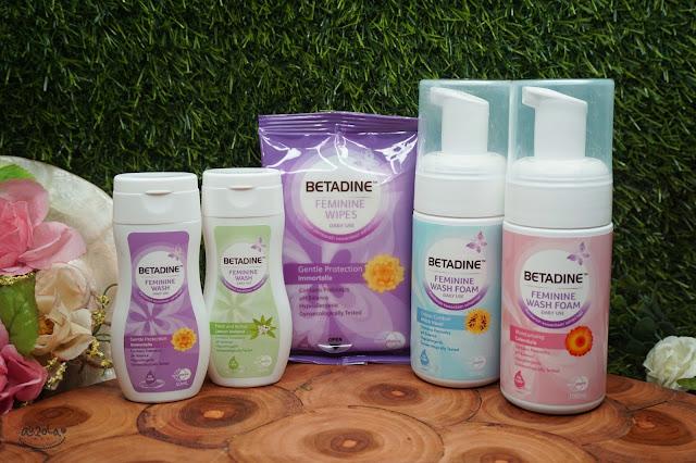 betadine feminine wash