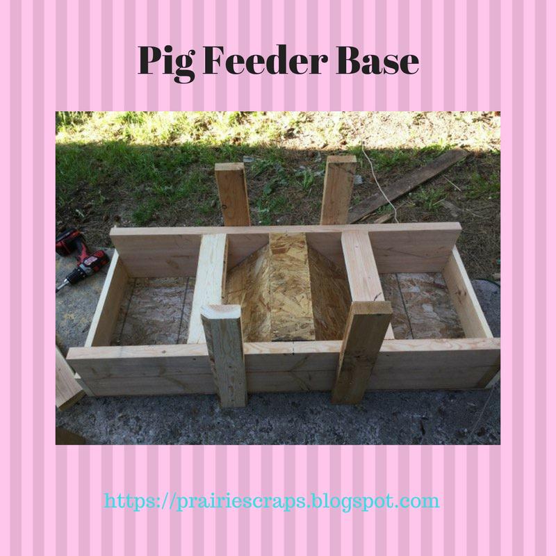 Prairie Scraps Diy Pig Feeder