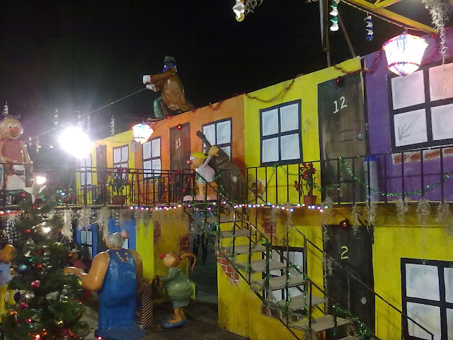 Navidad en Coyoacán con la Familia Burrón.