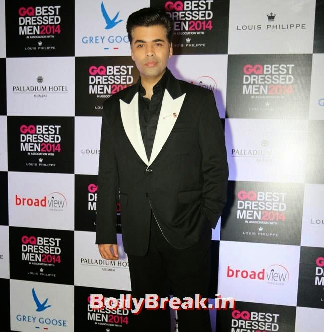 Karan Johar, Evelyn, Kim, Nargis Sizzle at GQ Best Dressed Men 2014 Awards