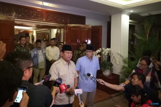 Tunda ke Sulteng, Prabowo: Saya Tidak Mau Politisasi, Orang Kena Bencana Sudah Susah