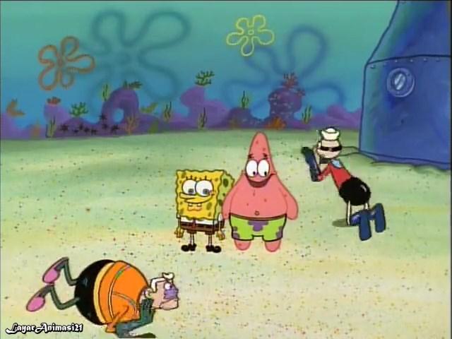 SpongeBob Season 1 Episode 6A - MM & BB SD 480p Dub Indo Layar
