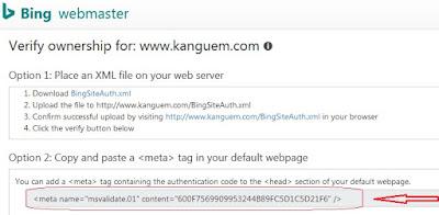 Cara Mendaftarkan Blog Ke Yahoo dan Bing (Terupdate)