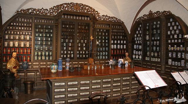 Museu da Farmacia, Castelo de Heidelberg