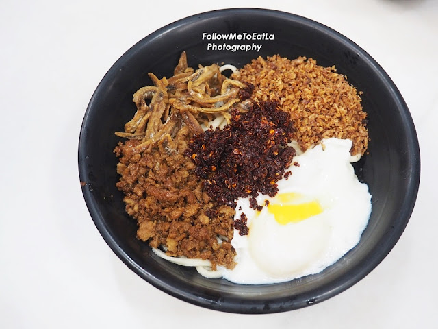 Chilly Pan Mee (Dry Noodle) RM 7.80
