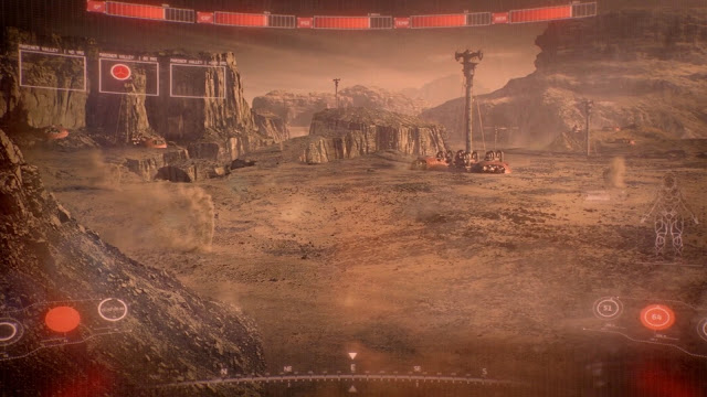 Terraforming Red Mars - image from The Expanse