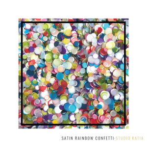 Satin Rainbow Confetti