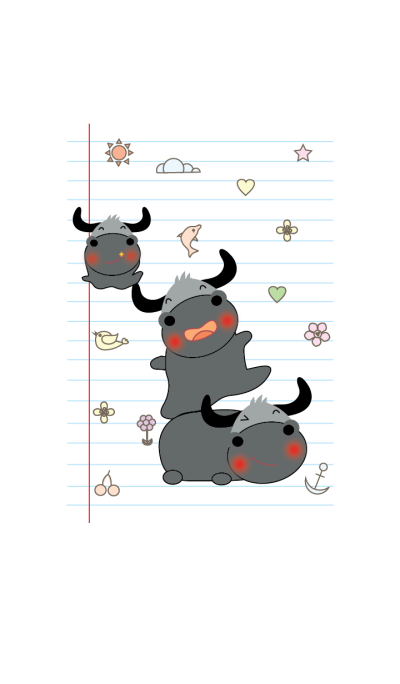 Cute buffalo theme v.1 (JP)