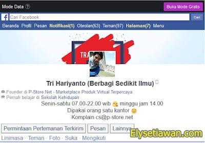 facebook mbah tri hariyanto