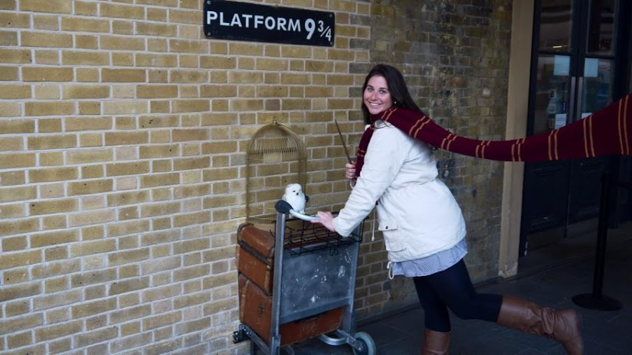 Platform 9 3/4 Kings Cross Station London