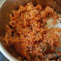 Tomatquinotto (eller tomatrisotto) för en liten