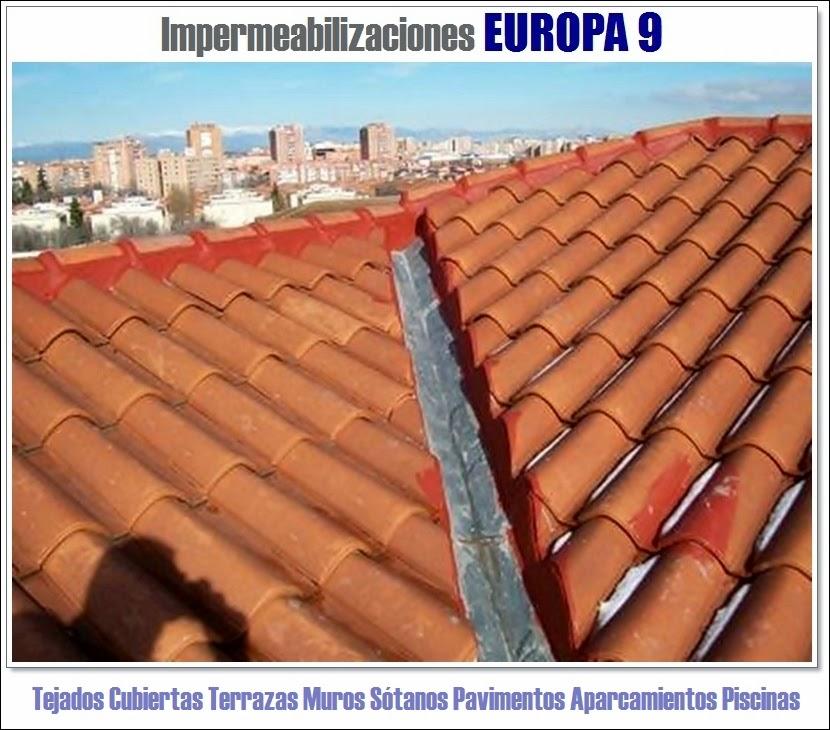 Europa tapar goteras y quitar humedad en valencia for Productos para impermeabilizar terrazas transitables