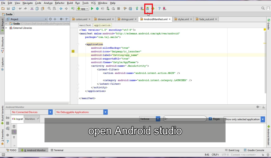 How to find SDK Location in Android Studio