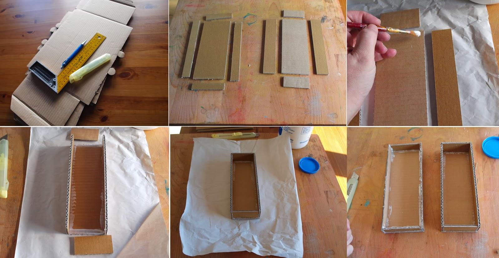 Top Simosì e il suo laboratorio: Scatole di cartone fai da te.. JO15