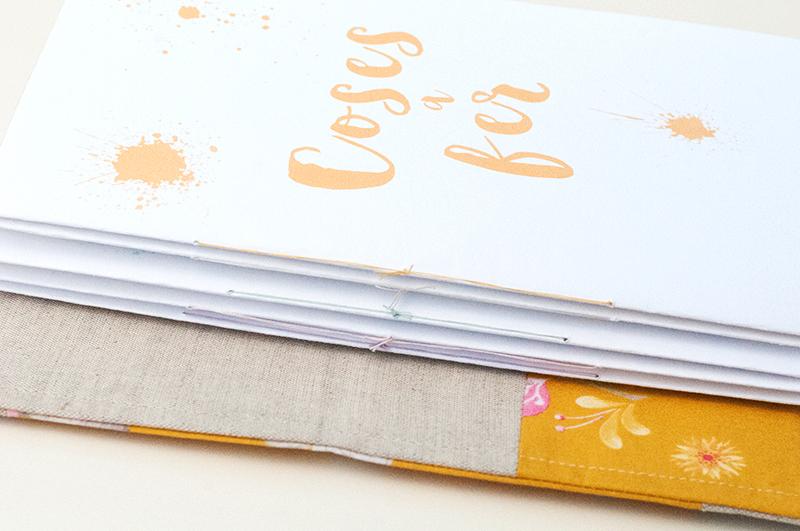 """Quadern de patchwork personalitzat tipus """"Midori"""" 3"""