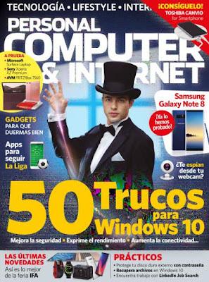 Revista Personal Computer & Internet España Octubre 2017