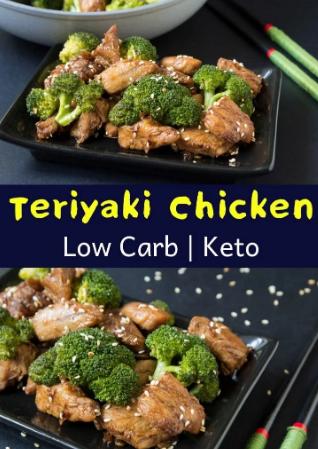Keto Teriyaki Chicken Thighs with Broccoli