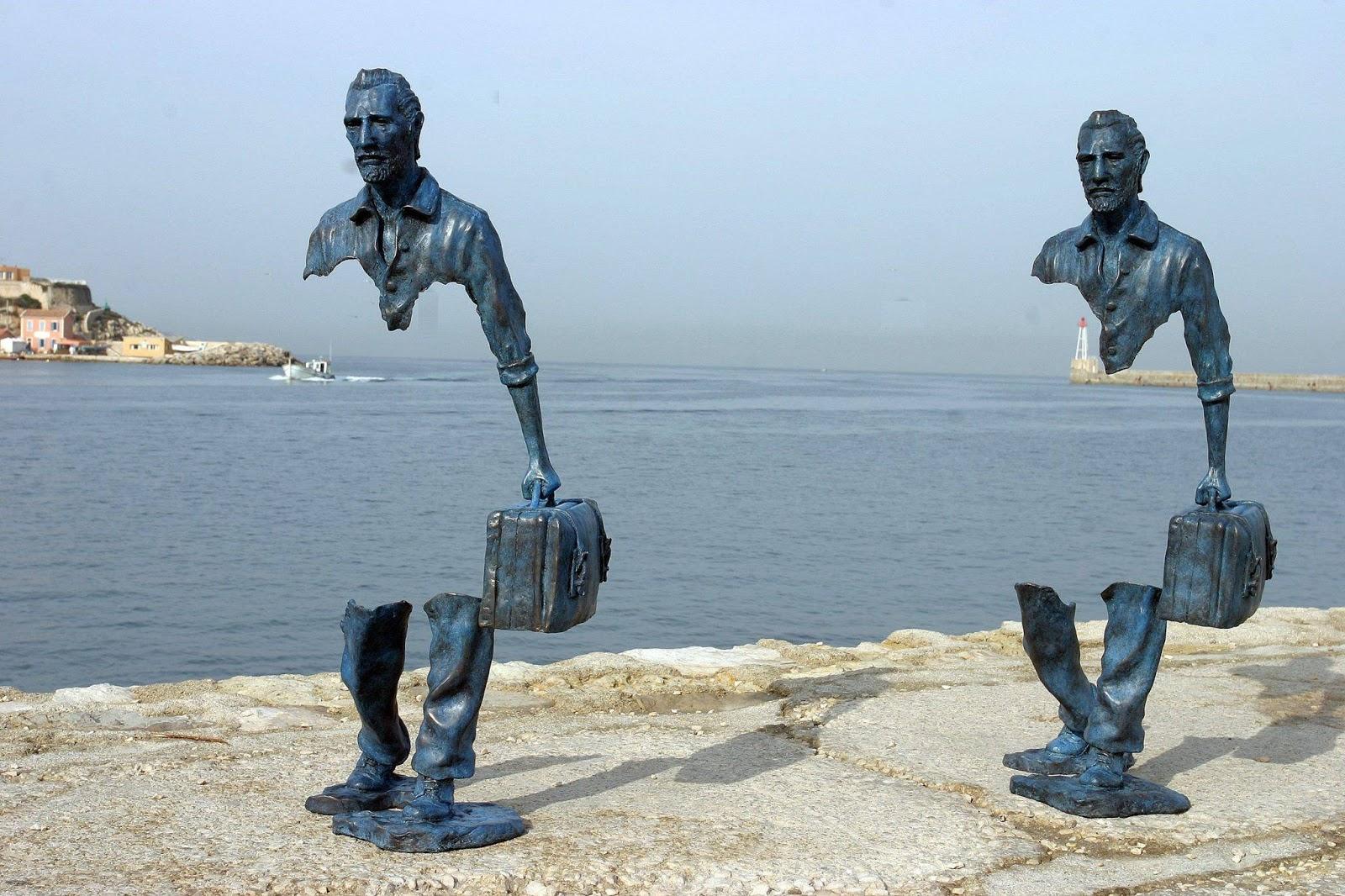 7 Esculturas Públicas Fascinantes