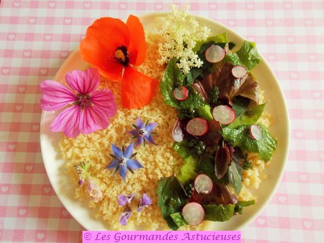 Comment consomme des fleurs ?