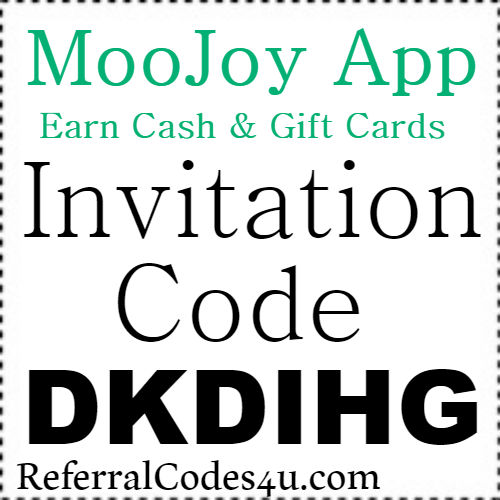 MooJoy Invitation Code, Referral Code, Download and Reviews 2018-2019