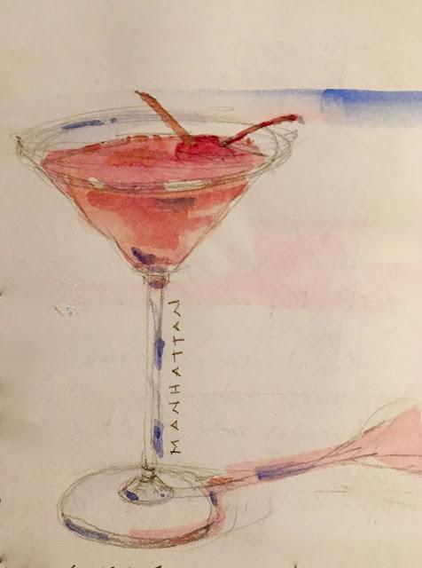 Cocktail hoàn hảo ở Manhattan