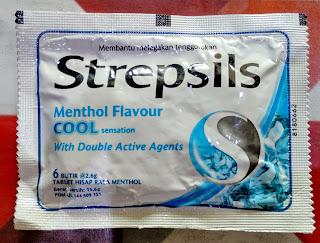 Melegakan Tenggorokan Dengan Strepsils Menthol