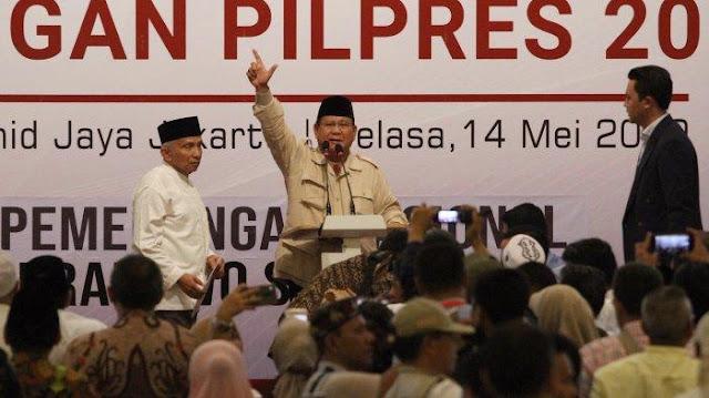 Prabowo Heran Pemerintah Lebih Peduli Sapi Ketimbang Nyawa Manusia