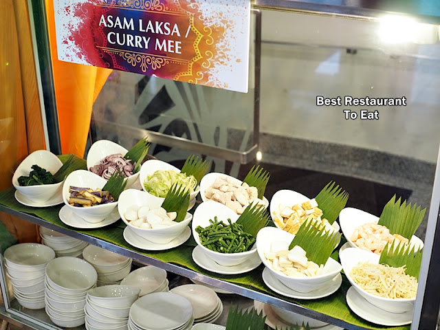 Assam Laksa Curry Mee Station  Ramadan 2018 Buffet Klang Premiere Hotel Warna Warni Ramadhan