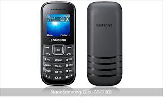 Samsung Guru E1200 Mobile + Rs. 75 cashback for Rs. 882 only.