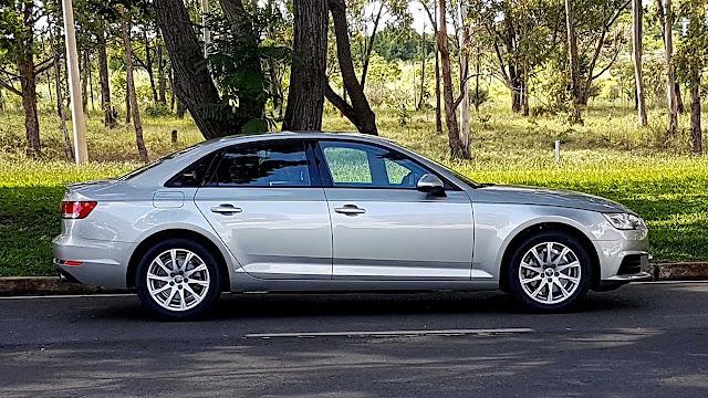 Novo Audi A4 2016 - recall