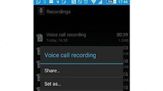 Cara Merekam Panggilan Suara di android