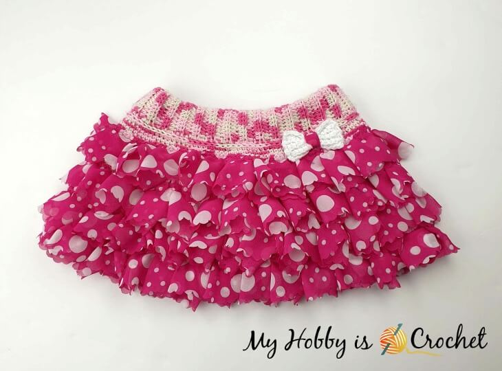 Sassy Ruffle Skirt-Free Crochet Pattern