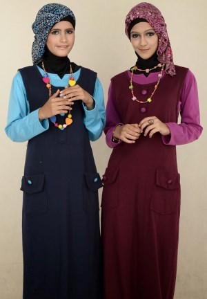 Model baju muslim remaja wanita terbaru