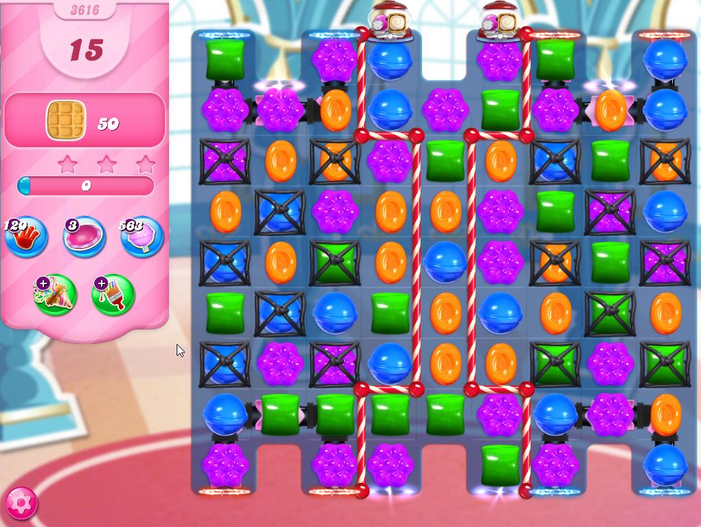 Candy Crush Saga level 3616